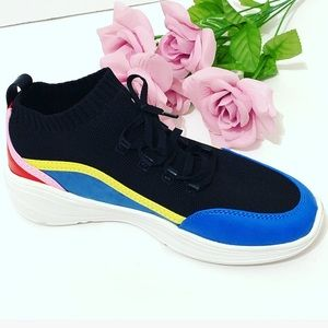 Women's Beta Multicolored Chunky Sneakers